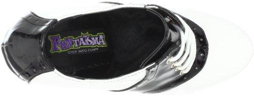 Funtasma - zapatos de tacón mujer - Blk-Wht Pat