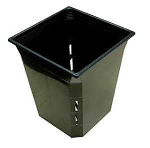 Hydrofarm 6 square planter pot 5 pack for Decor 6l container