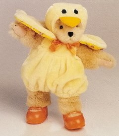 - Muffy Vanderbear Easter Chick Dressed Bear