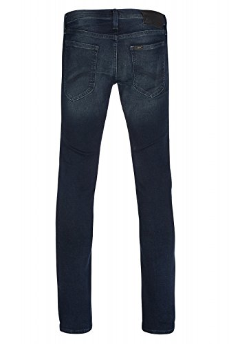 Lee Luke Slim Tapered Hose Herren Jeans Denim Blau L719YQDP