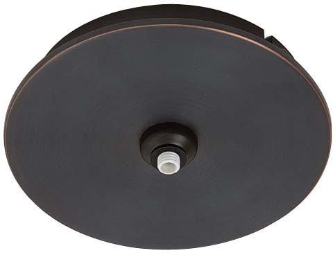 George Kovacs GKMP01-467 Monopoint Canopy - Patina Rail Light Bronze Sable