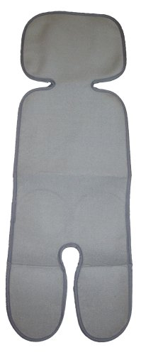 Sweat back mesh stroller seat (also used in the child seat available) Gray by WatariYoshimi woolen (Image #1)