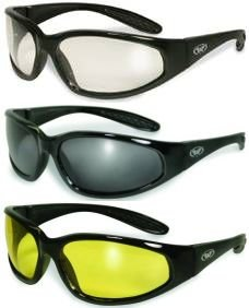 safety sunglasses  Amazon.com : 3 Sunglasses Clear Smoked Yellow Tinted Lens Safety ...