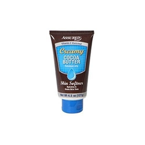 2 Assured Creamy Cocoa-Butter Petroleum Jelly, 4.5-oz. Tubes