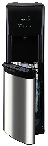 Primo Stainless Steel 1 Spout Self-Sanitizing Bottom Load Hot, Cold and Cool Water Cooler - Dispenser Primo Bottom Load Water