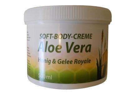 BienenDiätic Soft-Body-Creme Aloe, Honig & Gelee Royale 500 ml
