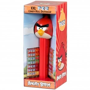 PEZ XXL Giant Candy Roll Dispenser ANGRY BIRDS, 27 Centimeters