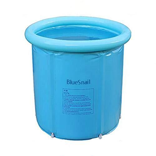 Happy Life Portable Plastic Bathtub, Blue