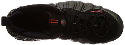 Foamposite black Homme Nike 304 sequoia Chaussures Air Multicolore Orange team Pro Basketball De 1qqz56T