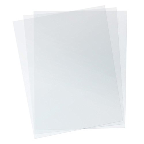 TruBind 7 Mil 8-1/2 x 11 Inches PVC Binding Covers - Pack of 100, Clear (CVR-07ASN) - Poly Binding Covers