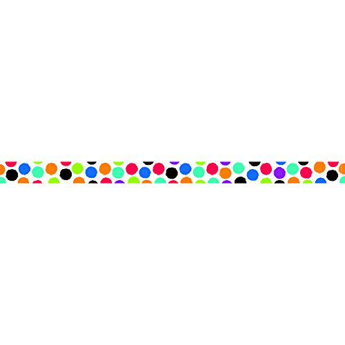 Border Bold Big (Creative Teaching Press Bold & Bright Colorful Spots Magnetic Décor Strips, Small (8400))