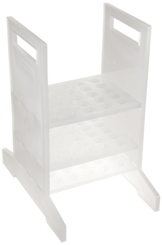 Bel-Art Thermometer Rack; 25 Places, 5⁷/₈ x 8³/₈ x 9⁷/₈ in, Polypropylene (F18981-0001)