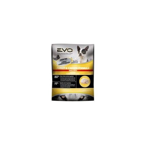 EVO Turkey & Chicken Small Bite Dog Food - 6.6 lb
