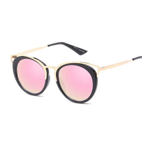 GGSSYY Oversized Gafas Pink Espejo Lovely Ladies sol de Brand Mujeres Sunglass Marrón de Gafas sol Gafas sol Uv400 Designer de HEHBqrvw