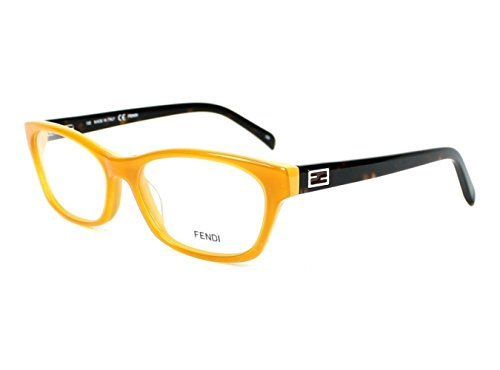 FENDI Eyeglasses 1032 249 Saffron/Honey - Eyeglass Frames Fendi Women's