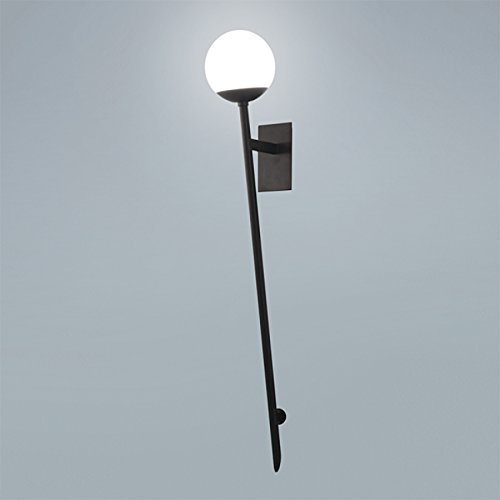 Amazon.com: WAC Lighting WS-93801-BK Bossa Nova - Lámpara de ...