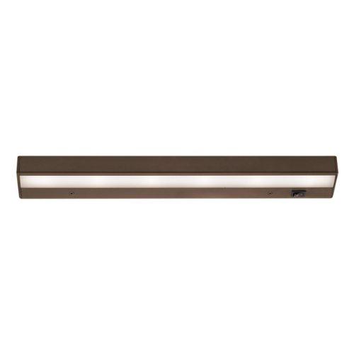WAC Lighting BA-LED6-27-BB 2700K Warm White LEDme 1 120V Light Bar, 18