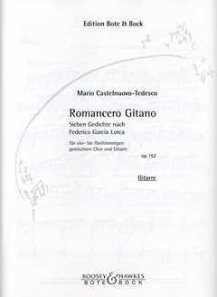 Roman cero gitano Op 152 – Git GCH – Arreglados para guitarra ...