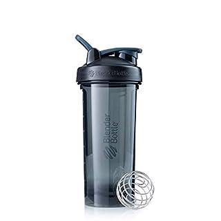 BlenderBottle Pro Series Shaker Bottle, 28-Ounce, Black