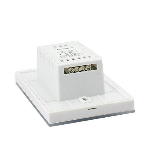 Led Strip Light Wall Dimmer: Wall-mounted Glass Touch Panel LED Dimmer Switch