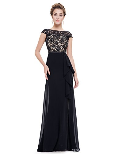 Buy black tie event long dress - 8