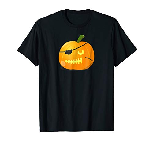 Pirate Jack O Lantern Shirt Cool Halloween TShirt ()