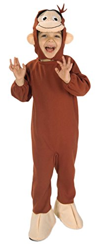 [Curious George Costume, Monkey, Toddler] (Costumes Curious George)
