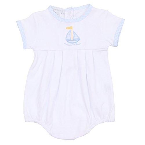 Magnolia Baby Baby Boy Set Sail Applique Boy Bubble Blue 24 Months (Boys Bubble)