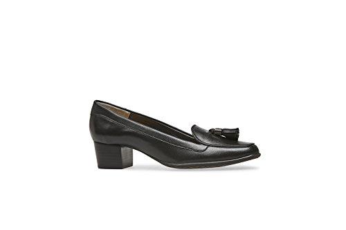Van Dal Womens Sidney II Leather Tasselled Court Black 8Wa3wD3lw4