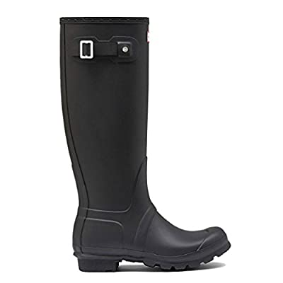 Hunter Women's Original Tall Black Knee-High Rubber Rain Boot