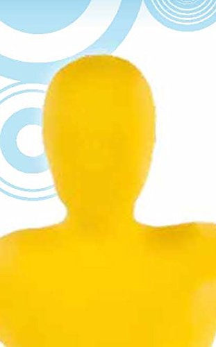 [Child's Yellow Second Skin Suit, Medium] (Yellow Morphsuit)