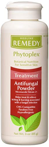 Medline Remedy Antifungal - Remedy Phytoplex Antifungal Powder, White 3 oz