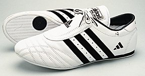 Adidas SMII Martial Arts Shoe White w/Black Strip size 13 mens by adidas