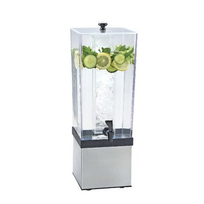 Cal-Mil 3324-3-55 Econo Beverage Dispenser, 3 gal, Stainless Steel from Cal Mil