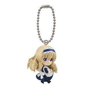 Bleach Chibi Keychain - Bandai IS Infinite Stratos II Gashapon Swing Mascot Key Chain Figure ~1.5