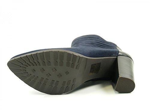 SPM 20247351 Panna Ankle Boot botas para mujer de cuero Blau