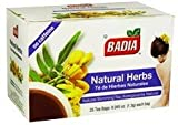 Badia Natural Herbs Tea Bag 25 Ct by Badia