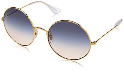 Ray-Ban Women's Ja-Jo Round Sunglasses, Gold, 55 - Ray Jo Ban Ja