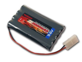 iMH Battery Packsfor RC Car, High Capacity 8-Cell2000mAh Rechargeable Battery Pack,ReplacementHobby Battery Packwith Standard Tamiya Connectors ()