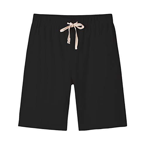 Arloesi Men's Cotton Casual Jogging Sweat Shorts