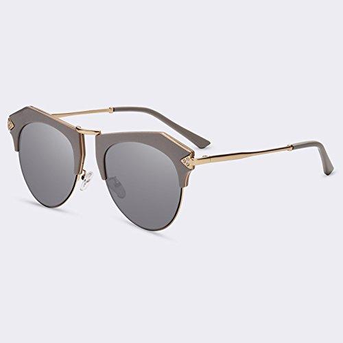 de gafas Forma gato de Gafas C04Espejo C05Mirror de lujo sombras espejo UV400 de Nueva de TIANLIANG04 de sol ojo wfvqgxqFt