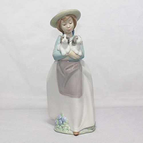 NAO Lladro Figurine 1156 What an Armful!