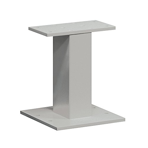 Cbu Pedestal - Salsbury Industries 3385GRY Replacement Pedestal for CBU Number 3316, CBU Number 3313 and OPL Number 3302, Gray
