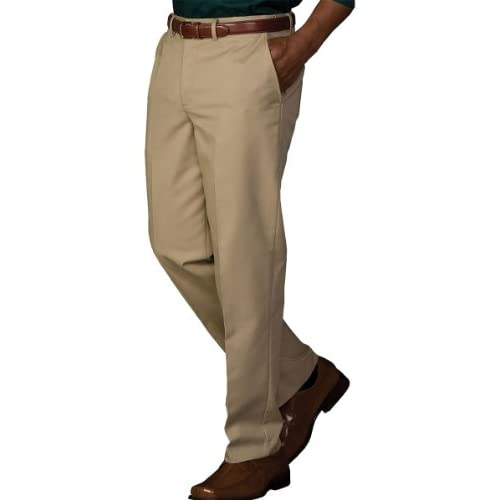 Edwards Garment Mens Fashion Button Business Chino Pocket Zipper Pant