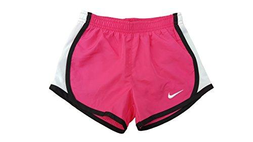 NIKE Girls Dry Tempo Running Shorts Vivid Pink/Black iSABA