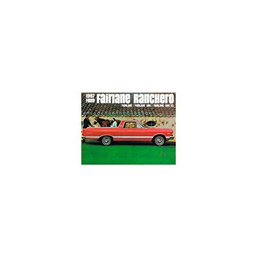 (MACs Auto Parts 41-75562 Sales Brochure, Ranchero,)