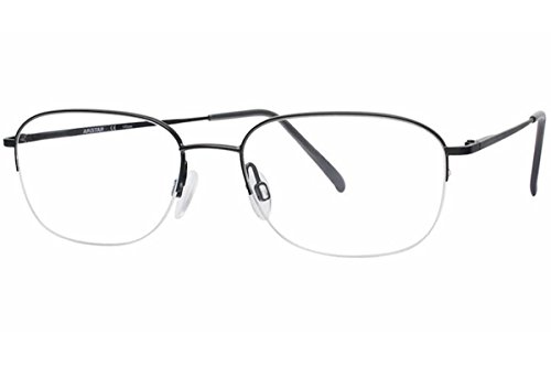 Aristar By Charmant Eyeglasses AR6724 AR/6724 023 Matte Black Optical Frame 52mm