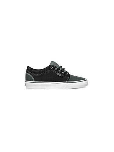 Vans Mens Chukka Low Flannel Skateboarding Shoes Charcoal Black 6.5 M US Mens Charcoal Black