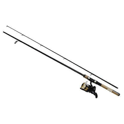 Daiwa Unisex's DSK25-B/F662M-10C D-Shock Reel and Rod Combo with Line 6'6'...
