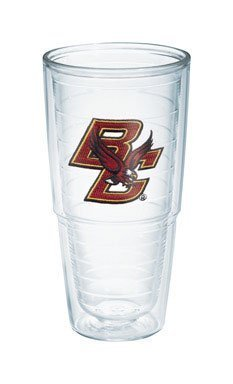 Tervis 1039756 Boston College Emblem Individual Tumbler, 24 oz, Clear by Tervis